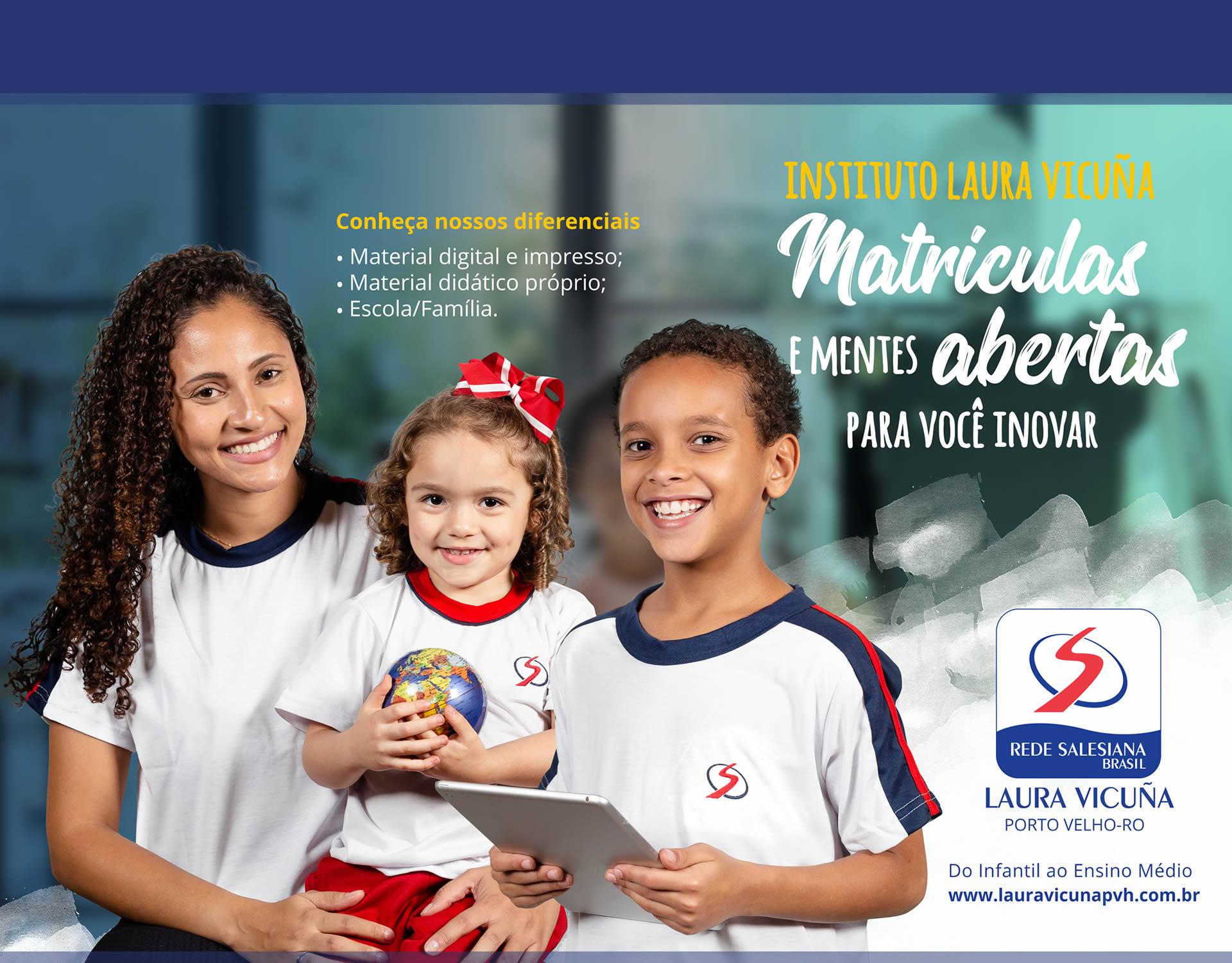 Matrículas 2019 - Instituto Laura Vicuña